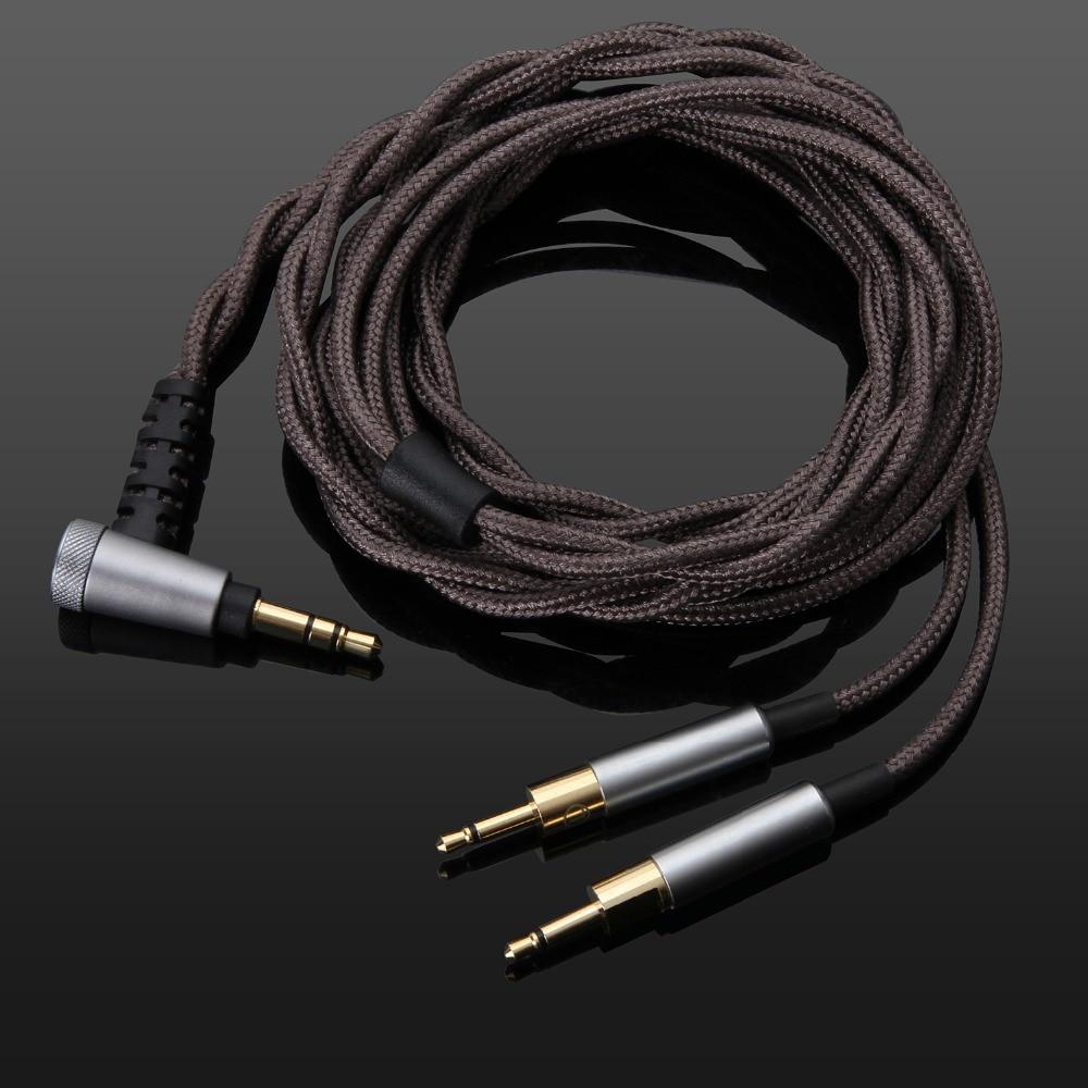 Cabo de Áudio Equilibrada para Sennheise Fones de Ouvido Atualização hd 700 4.4mm – 3.5mm Hd700