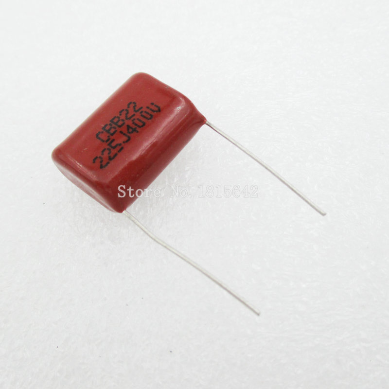 10PCS 400V225J 2.2UF Pitch 20mm 225J400V 225 400V <font><b>2200PF</b></font> CBB Polypropylene film <font><b>capacitor</b></font> image