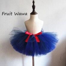 Купить с кэшбэком Girls Ball Gown Tutu Skirt Fluffy Made Of Nylon Tulle Toddler Girls Dance Skirt Ballet Skirt Birthday Party clothing