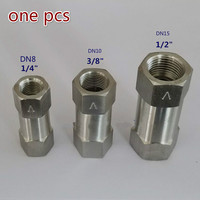 6000 Psi Stainless Steel 1 4 3 8 1 2 Check Valve