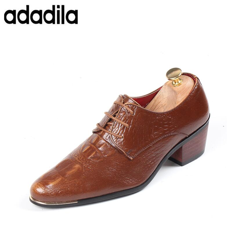 091ad543cb710 Shoes China Designer Brand Male Brown Dress Italian Crocodile Skin Leather  Office Footwear Social Cheap Cocodrilo Formal Shoe For Men Handsome  Appearance ...