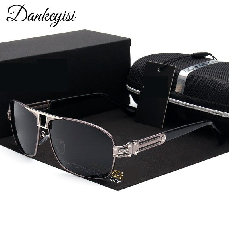 DANKEYISI font b Fashion b font Male Sunglasses Men font b Polarized b font Vintage Oversized