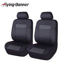 6 צבעוני עור מפוצל מול רכב מושב כיסוי Fit עבור אוניברסלי רכב מושב אביזרי רכב אוטומטי כרית כיסוי שחור אפור כחול