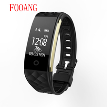 FOOANG smart bracelet fitness mi band bluetooth waterproof Dynamic heart rate monitor Skip rope sport remind IOS android phone