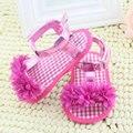 Bebé recién nacido Prewalker Verano Zapatos de La Princesa Niñas Niños Niños Zapatos de Suela Blanda antideslizante