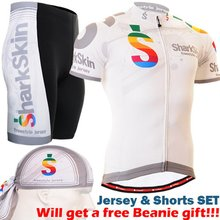 2017 одежда для велоспорта дышащий Велоспорт одежда велосипед устанавливает белый быстро сухой езда одежда наборы