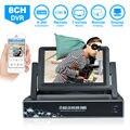JOOAN 3718 P Черный цвет 960 H HDMI DVR 8 Каналов с ЖК-7 дюймов H.264 CCTV DVR Рекордер главная видеонаблюдения безопасности HD dvr