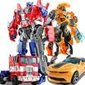 12 Стиль 27 см Оригинальная Коробка преобразования 4 Optimus Pe Шмель Аниме Роботы Цифры Автомобиль Игрушки Подарки Для Детей Juguetes Brinquedos