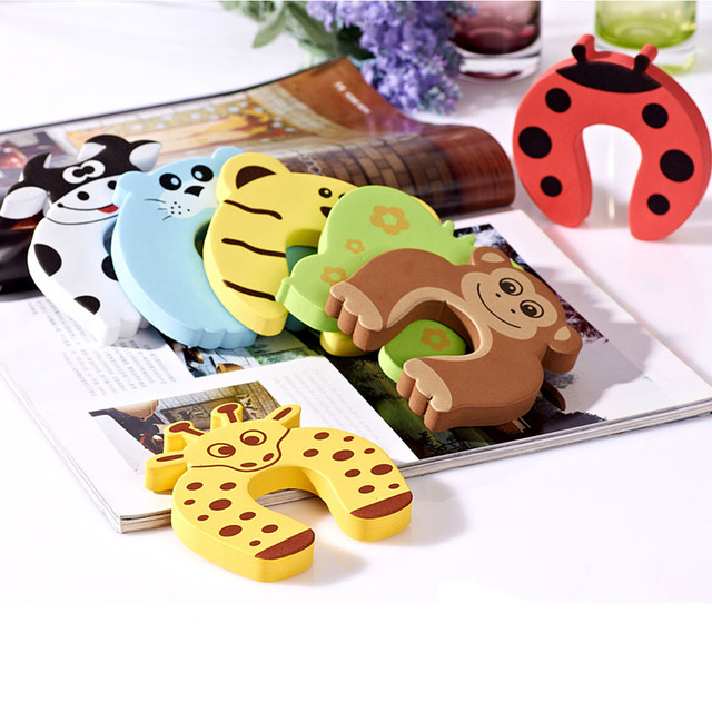 10pcs/pack of Best Child Safety Door Stoppers