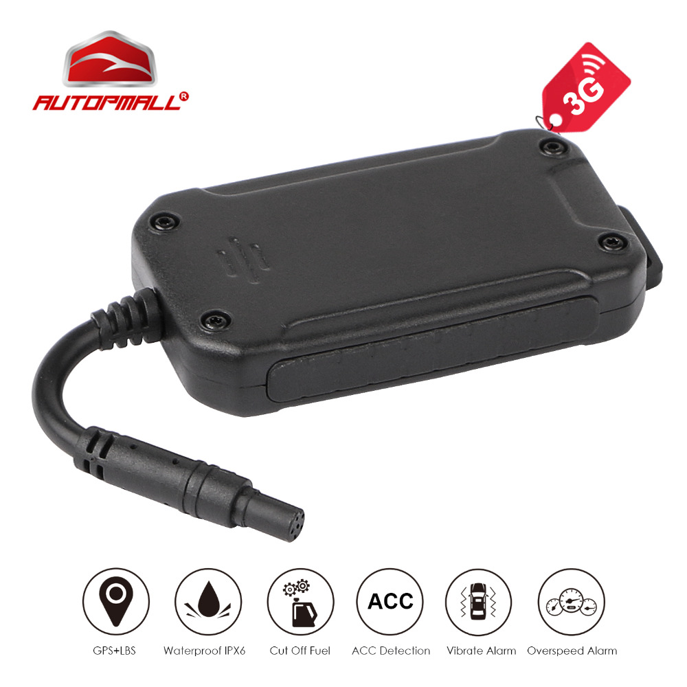 3G GPS Tracker WCDMA GSM Car Vehicle Tracking Device Motorcycle GPS Locator Waterproof Real Time Tracking Cut Off Oil Engine coban gps105a vehicle motorcycle car gps gsm gprs lbs tracker support cut oil fuel sensor auto camera dual sim tracking device