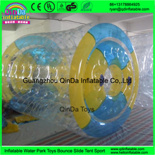 Lake floating water park inflatabl water roller PVC 1.0mm inflatable water ball roller, water rollers ball