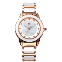 TOP Luxury Brand watch Lady Crystal ceramic watches women rhinestone dress wrist watch High quality quartz
