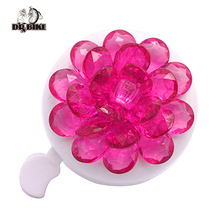 Drbike Four Colors  Flower Bicycle Bell for Lady Bike Aluminum Cycling Ring Kids Kike Folding