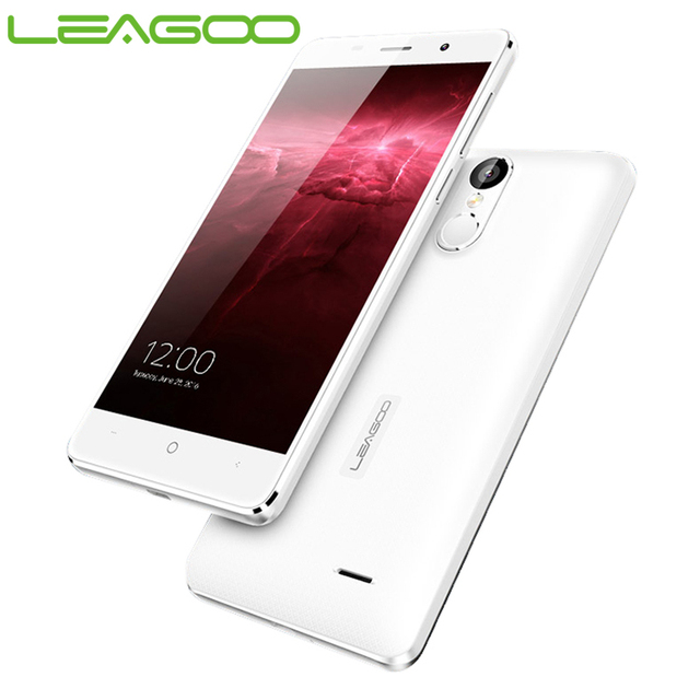 Original Leagoo M5 Smartphone Android 6.0 5.0 Inch HD Screen 2G+16G MTK6580 Quad Core Finggerprint Scanner BT 4.0 Cellphone
