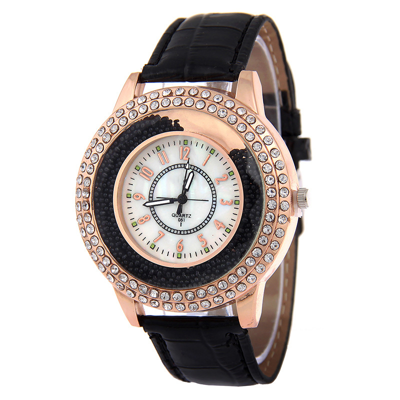 Crystal Rhinestone Brand PU Leather Watches Women Dress Clock Ladies Gifts Quartz Wristwatches Watch Reloj For Girls Fashion kids watches children silicone wristwatches doraemon brand quartz wrist watch baby for girls boys fashion casual reloj