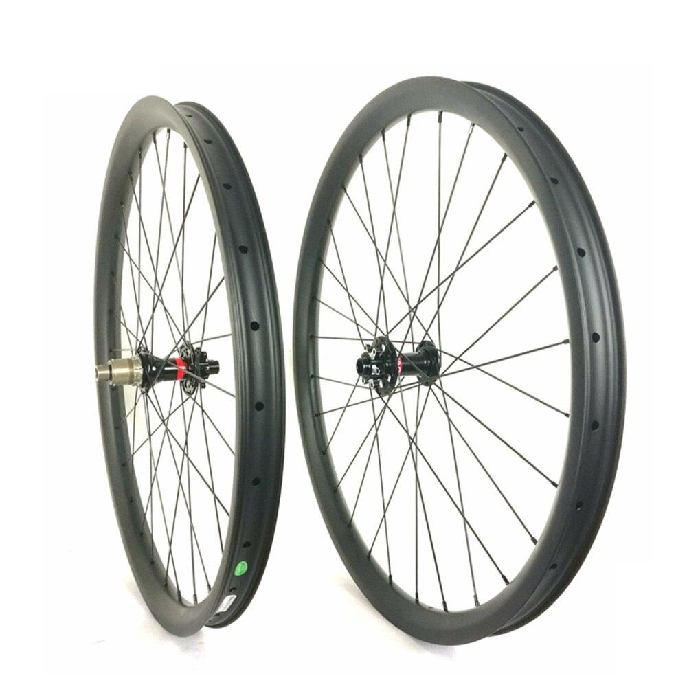 Лидер продаж 40 мм * 32 мм спуске углерода горный велосипед колесо высокое качество 26er/27.5er (650b) bicicleta Аро 29 Дисковый Тормоз MTB колеса