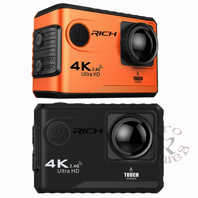 Unterhaltungselektronik Gehorsam Dhl F100b Action Kamera 4 Karat Ultra Hd 2,4g Wifi Mini-kamera 2,0 Touchscreen 1080 P Cam Video Außen Helm Camara Sport & Action-videokamera