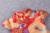 Niñas tendencia vestido de cuello V vestido clásico Chino rojo festivo celebración del año nuevo