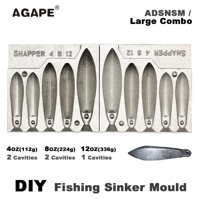 top 8 most popular mould of lead sinker ideas and get free