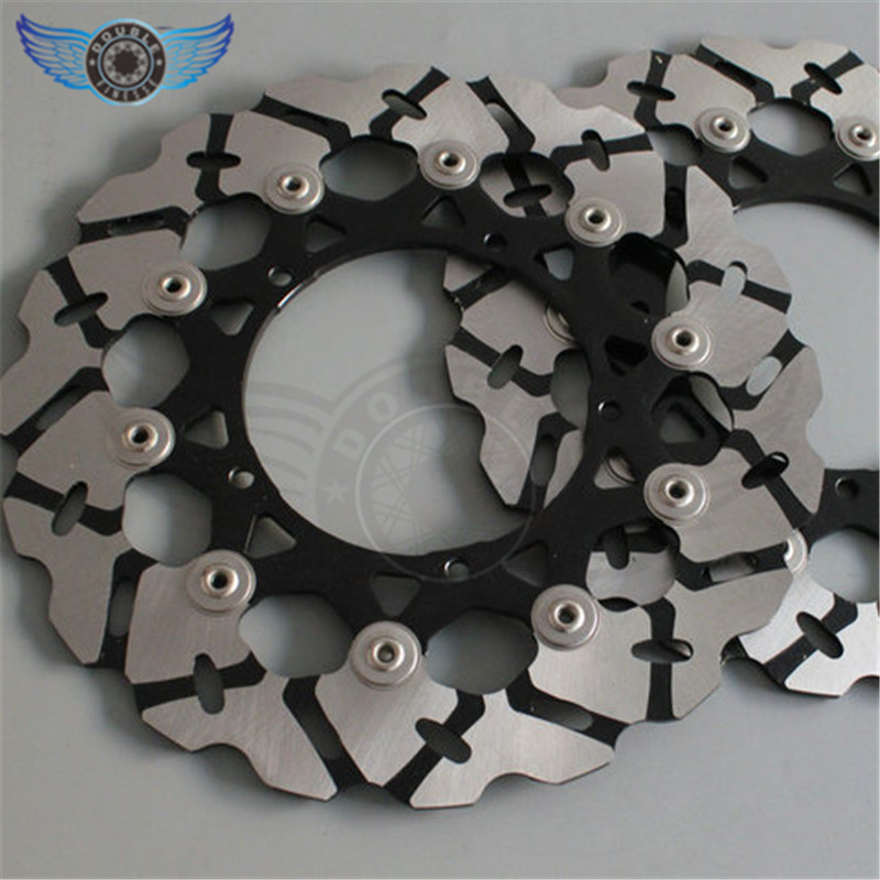new style 2 pieces  motorcycle Front Brake Discs Rotor for  YAMAHA YZF R6 2005 2006 2007 2008 2009 2010 2011 2012 2013    DHL 3 motorcycle fender eliminator tidy tail for yamaha yzf r1 yzf r1 yzfr1 2004 2005 2006 2007 2008 2009 2010 2011 2012 chrome
