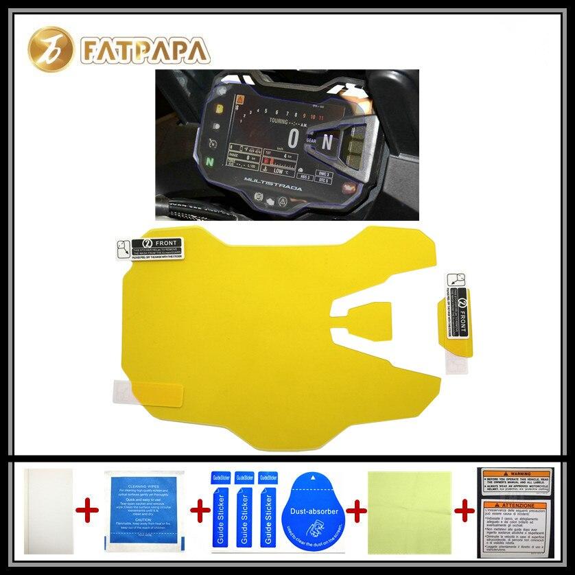 motorcycle Meter Km Table Display screen Blu-Ray Protective film Suitable FOR DUCATI Multistrada1200 Multistrada950
