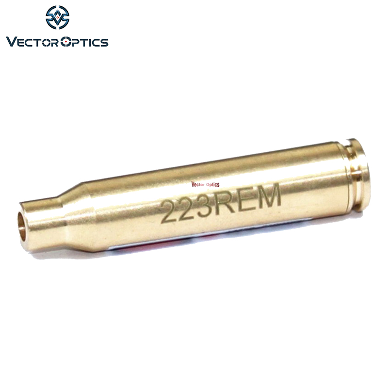 Vector Optics .223 Remingtonn 5.56mm Картридж Қызыл Laser Bore Sighter Boresight Fit үшін .223 5.56mm Mini-14 Тегін жеткізу