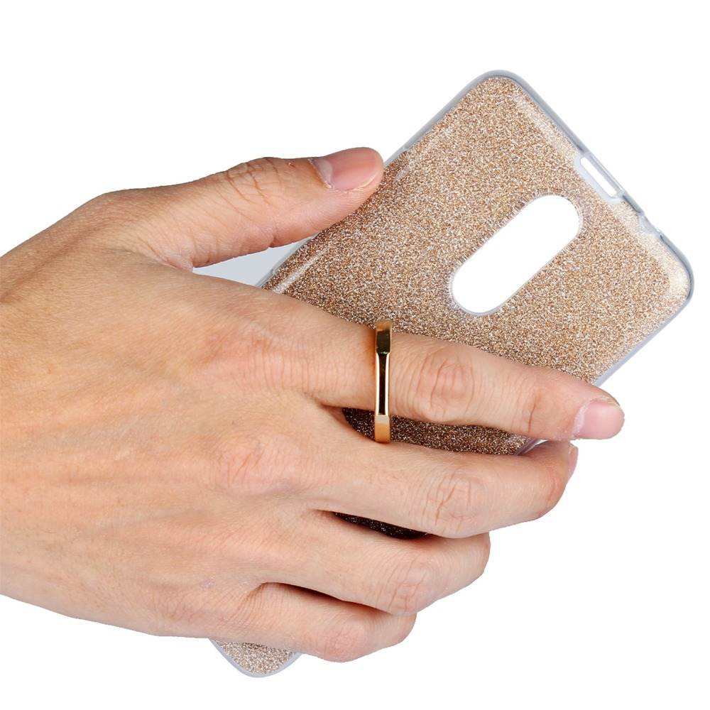 Ultrafino Soft TPU Gel Original Kickstand Finger Ring Cubierta del - Accesorios y repuestos para celulares - foto 6