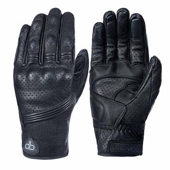 roaopp leather motorcycle gloves NEW Perforated