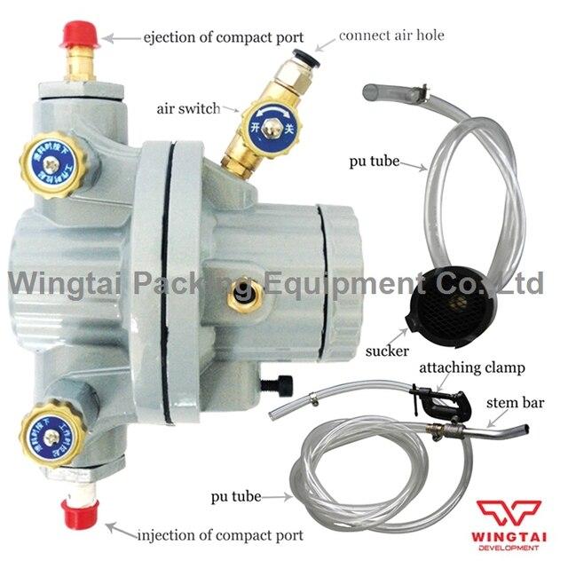 Fuel Pump Diaphragm Material : Single way pneumatic diaphragm pump for printing ink and