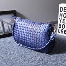 Женщины сумочку и мимоходом сумка креста тела высокое качество вязание сумки сумка
