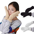 gloves Classical Women Thick Wool Warm Ladies Winter Knitted Twist Gloves Mittens Women's Accessories Chirstmas Gift  DM#6