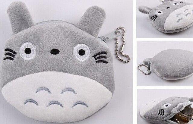 Totoro Bag Plush Coin Keychain