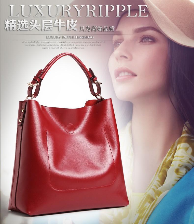 Ladies Composite Handbags Woman Fashion Pu Leather Bags Crossbody Bag For Women Fashion 2015 Designer High Quality Bags BH270 (2)