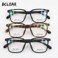 Fashion TR90 Big Frame Korea Desgin Optical Frame Super Light Eyeglasses For Men And Women 6680