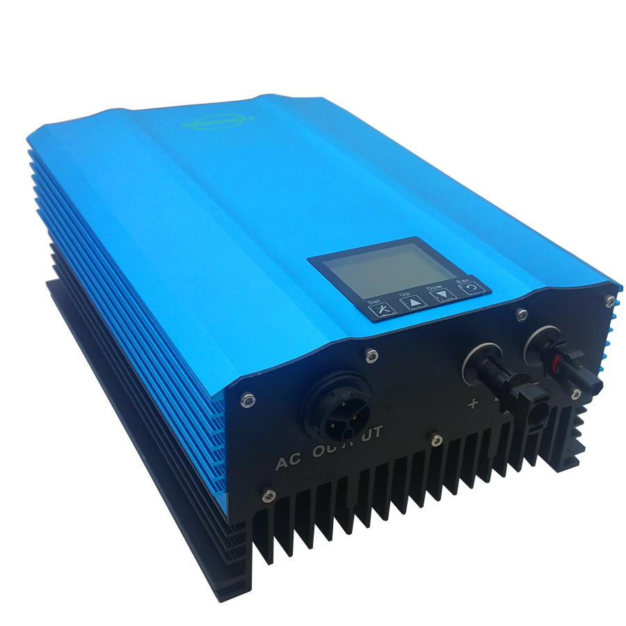 1200W Grid Tie Photovoltaic inverter PV-Voc input 55-90v solar inverter AC110V 230V Home solar systems or 48V battery waterproof photovoltaic water pumping systems