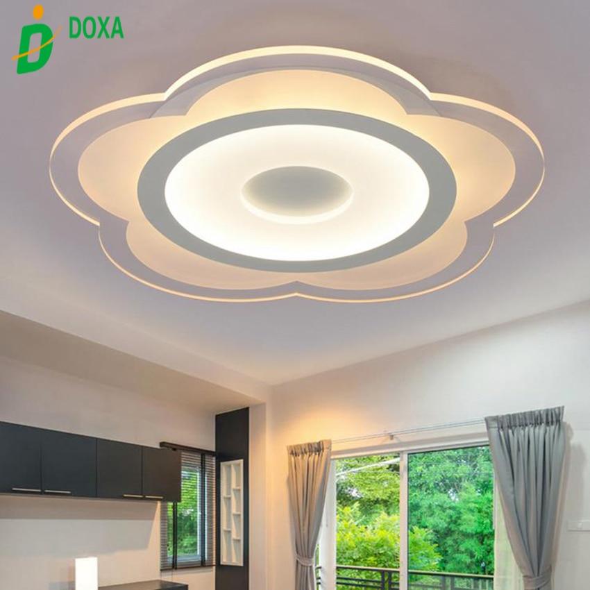 Best Ceiling Light: Best Acrylic Ultra Thin Modern Ceiling Light LED Flower