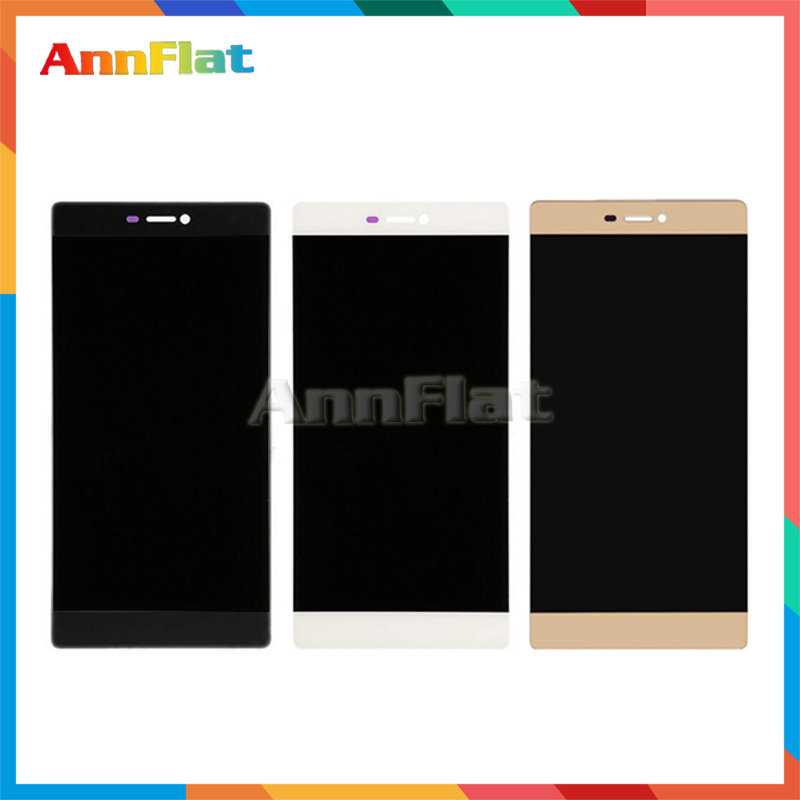 DHL 10pcs high quality 5.2 For Huawei P8 LCD Display Screen With Touch Screen Digitizer Assembly + Tracking code