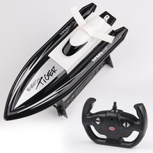 Electric RC Boat Toy 20KM/H 4CH Radio Controlled Speedboat H