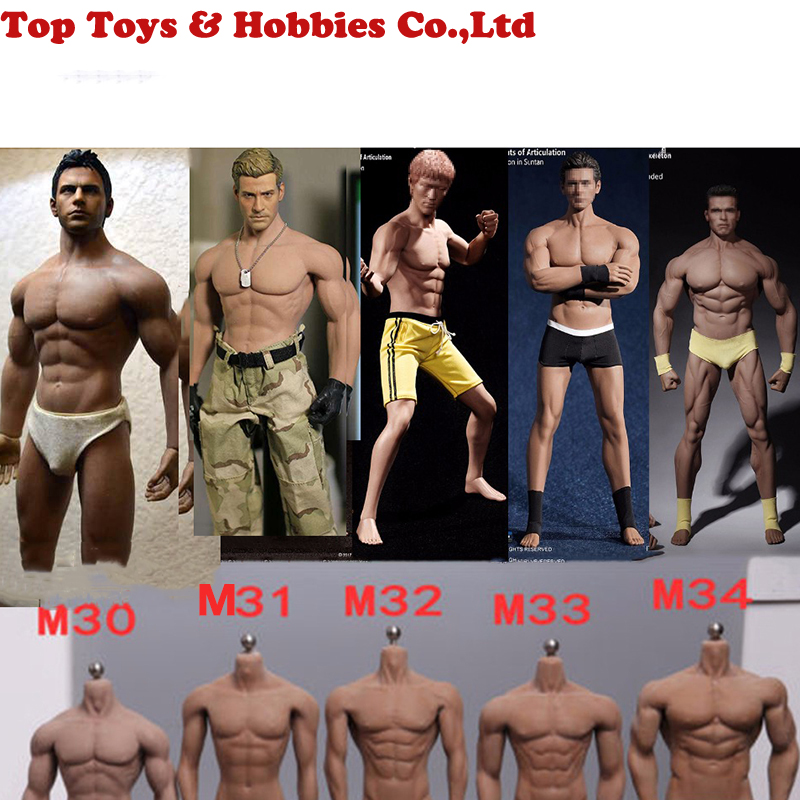 Seamless Doll-Body Body-Tbleague M32 Male Flexible Super M34 M30 M31 M33 M35 1:6-Steel