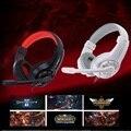 Lúpus G1 Gaming Surround de Fone De Ouvido 3.5mm Stereo Headset Headband Fone De Ouvido com Microfone para PC Computador Portátil de Baixo Baixo fone de Ouvido Com Fio
