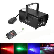 Wireless remote control LED fog machine RGB 400W smoke machine full color smoke generator professional stage party Effect Fogger