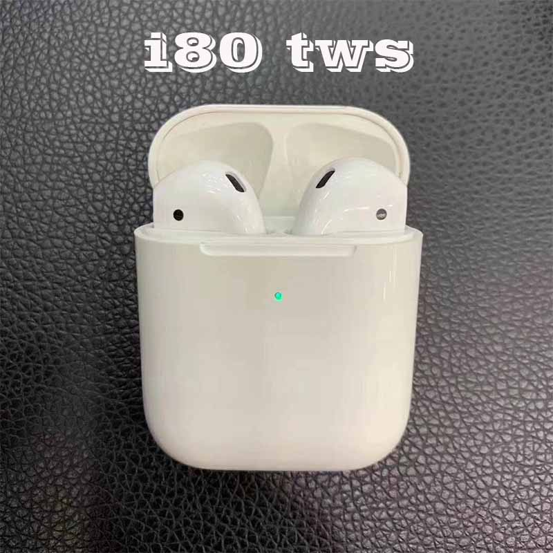 i80 tws 1:1 Original Bluetooth Earphone Pop up Wireless Headphone Bass Stereo Mini Earbuds Siri Headset 10Pcs DHL PK i20 i30 i60