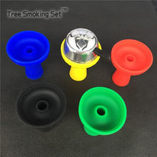 1pc aluminum alloy hookah charcoal and Silicone bowl for No. 1 narguile chicha Hookah accessories