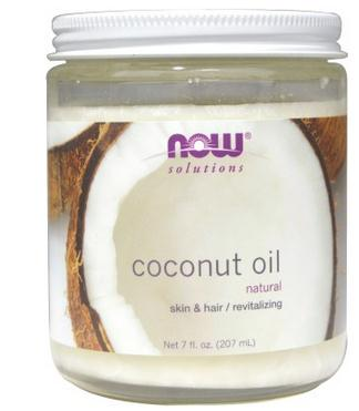 Now Foods, Coconut Oil, Natural, 7 fl oz (207 ml) now foods л тианин капсулы 90шт