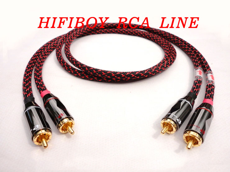 HIFI PAILICCS RCA Cable Thickened Wall Budweiser Connector Canare Professional Broadcast Cable Manual 0.5m 1m 1.5m 2m DIY
