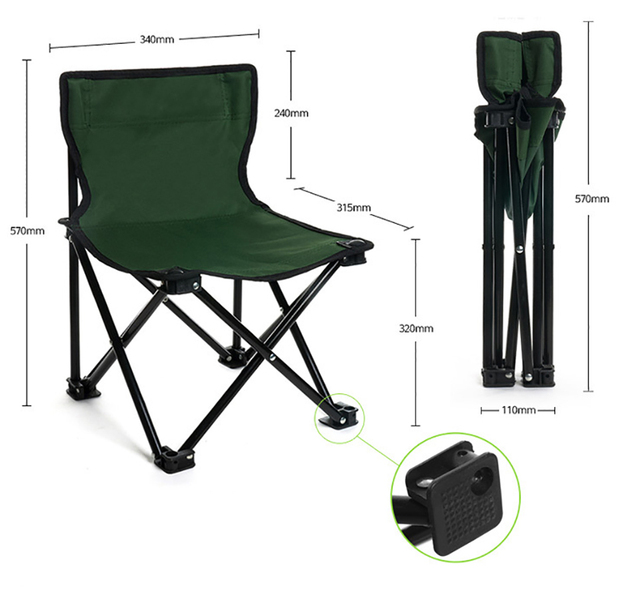 High Quality Outdoor Camouflage Foldable Chair 8