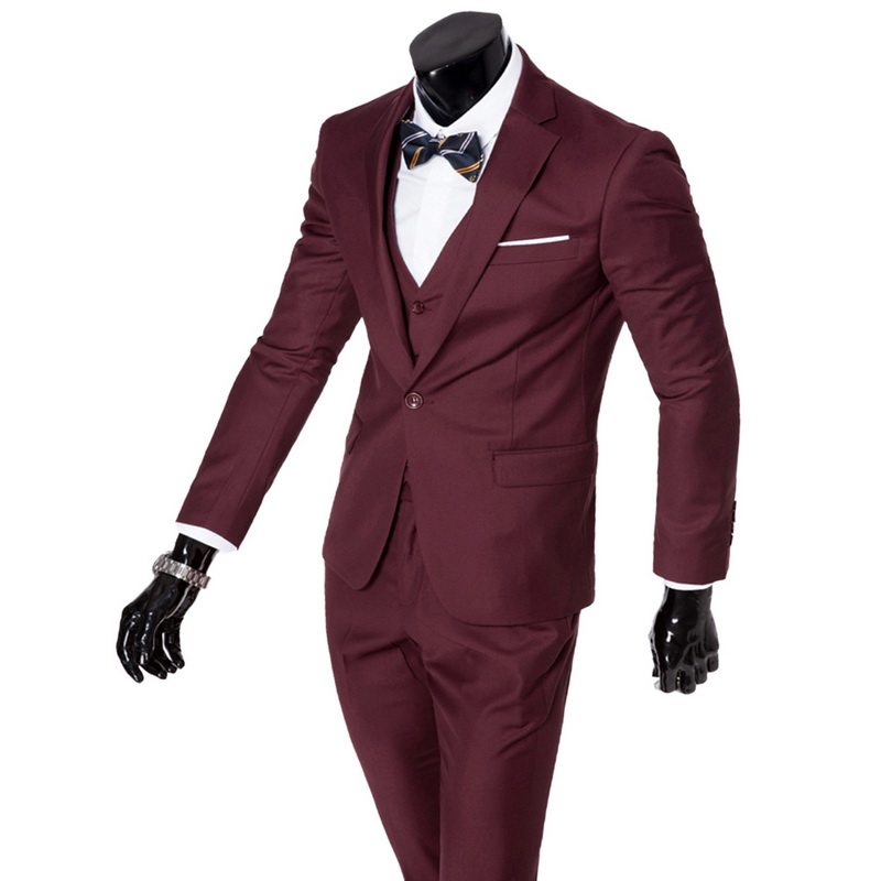... Wenyujh Blazers 6xl Costumes Costume De dark purple Light Hommes Solide  Définit Mens Mode Social Red ... 43000a7c80c