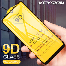 KEYSION Full Glue Tempered Glass For Xiaomi Redmi Note 7 6 Pro Mi 9 SE 8Lite Pocophone F1 A2 Lite Re