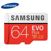 Samsung u3 tarjeta de memoria 64 gb nuevo evo plus sd micro tarjeta Microsd Uhs-1 de Velocidad Máxima de 100 M/S para Tablet Smartphone freeshipping