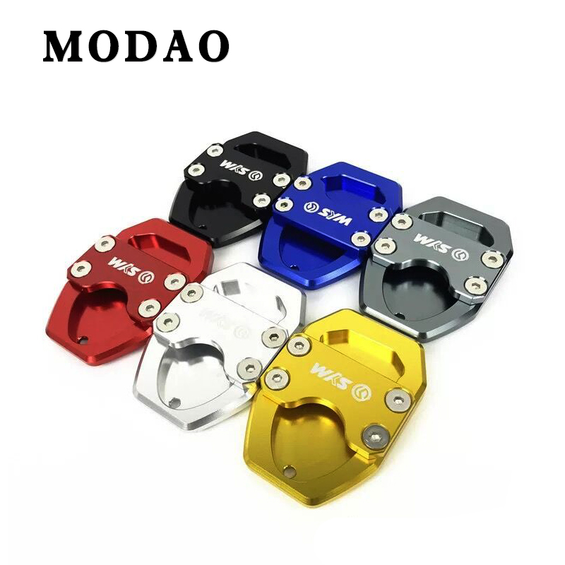 For <font><b>SYM</b></font> joymaxZ300 joymax Z300 GTS300i GTS <font><b>300i</b></font> CNC Motorcycle extension pad side bracket side bracket extension plate pad image